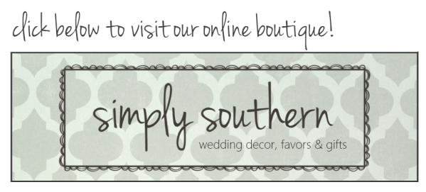 Southern Wedding Favors & Decot