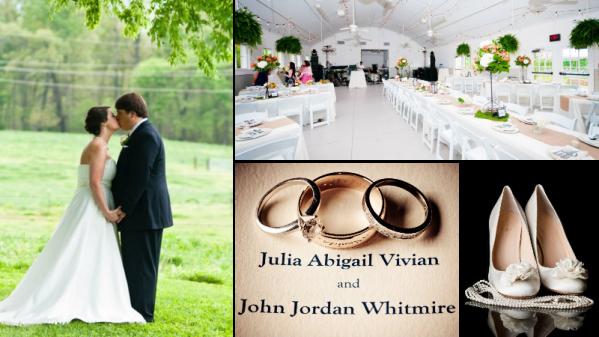 Barn Wedding Centerpieces - Charlotte Weddings