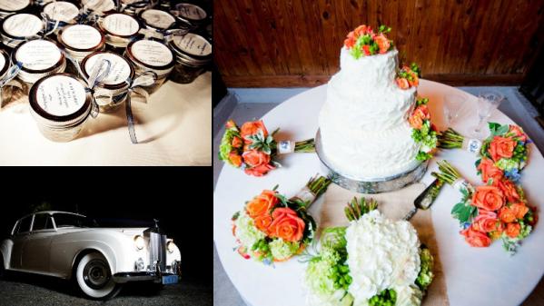 Barn Wedding Favors - Cake for Barn Wedding