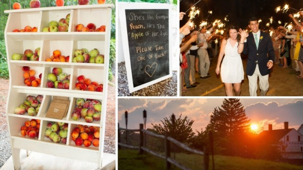 Fruit Wedding Favors - Rustic Farm Weddings