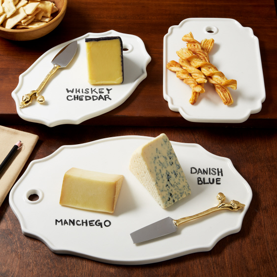 Displaying Your Bar Menu - Gourmet Cheese Platters