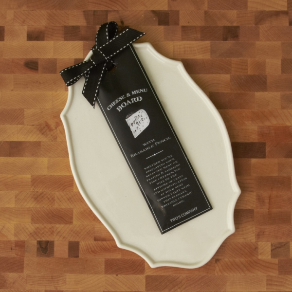 Wedding Menu Display - Gourmet Cheese Platter