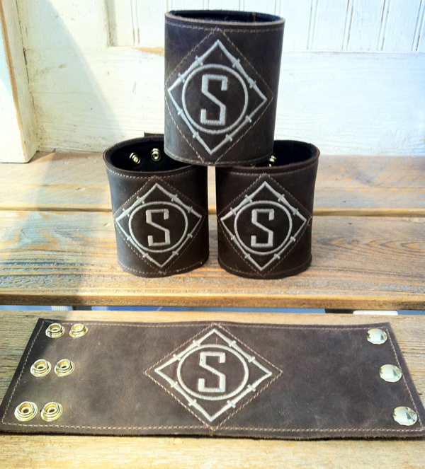 Custom Leather Koozies - Groomsmen Gifts
