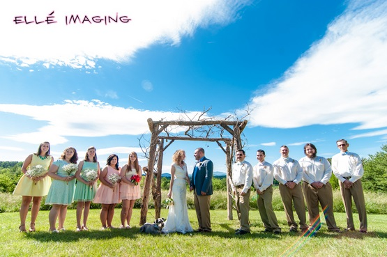 Western North Carolina Wedding Party