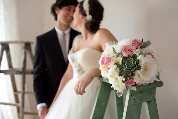 Mint & Pink Wedding Color Scheme